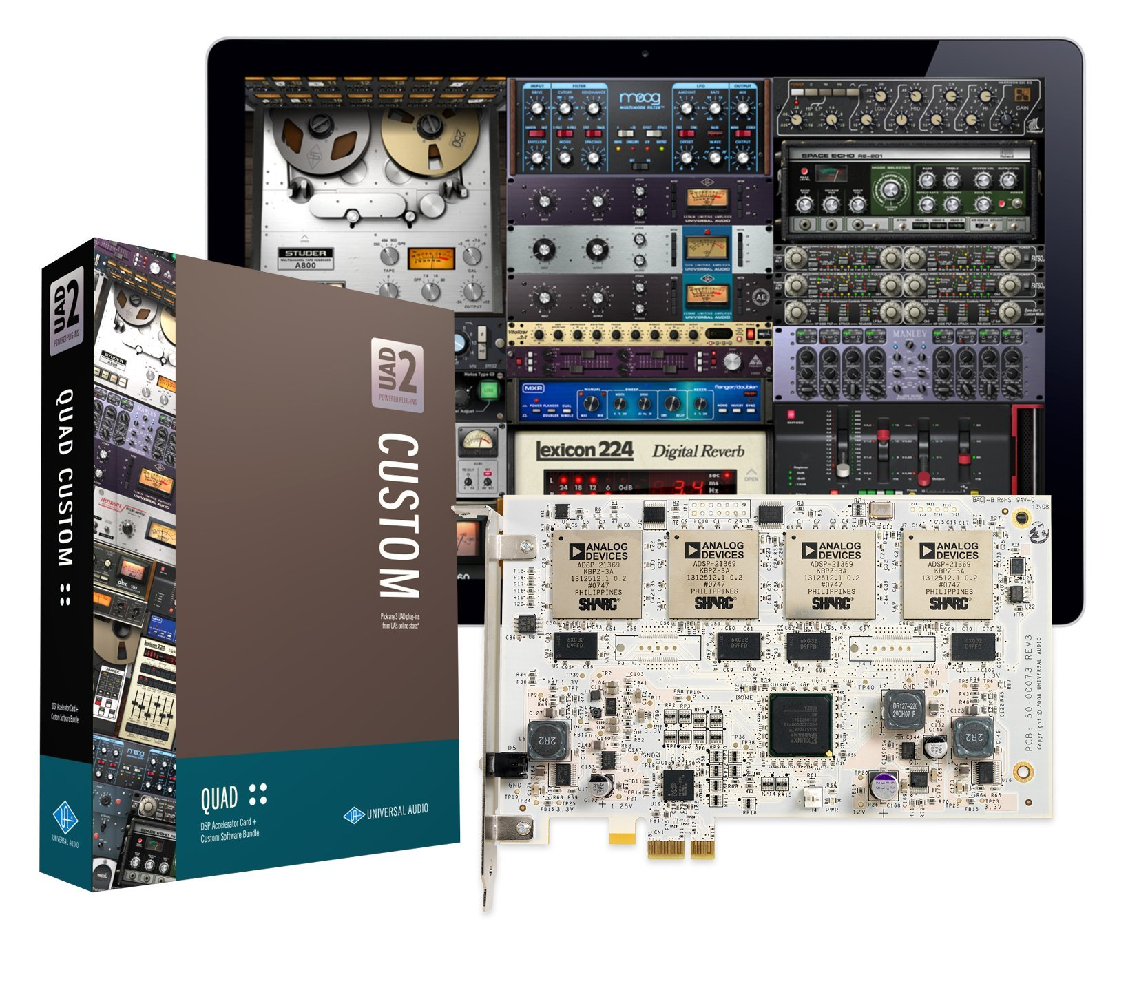 Universal Audio UAD-2 QUAD Custom PCIe DSP Accelerator Package by Universal Audio