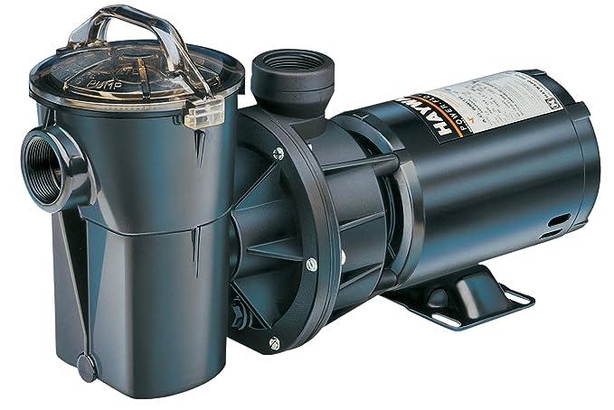 Hayward SP1780 PowerFlo II 1 HP Above-Ground Swimming Pool Pump on
