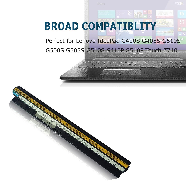 Amazon.com: EBK g400S Laptop Battery Lenovo IdeaPad G405S G510S G500S G505S G510S ideapad G50-70A G50-75 G50-70M G50-80 Z70-80 Z70-70 Z40-75I Z40-70: ...