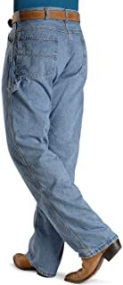 product image for Roundhouse Made in USA #1010 Mens Dark Stone Washed Carpenter Dungaree Jean