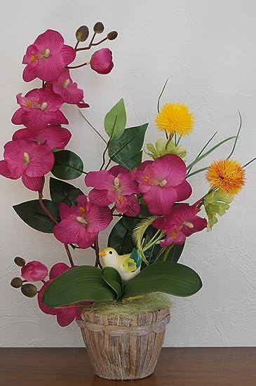 Tatjana Land Deko Orchideen Im Topf Kunstblumen Tischdeko Kunstliche