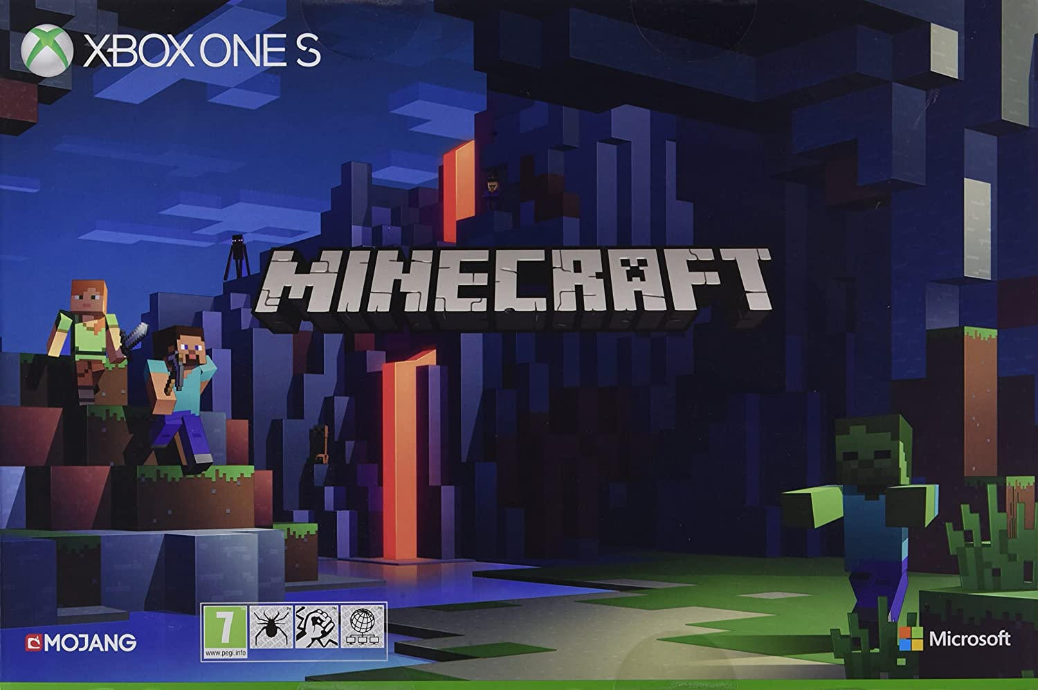 Xbox One S TB Konsole Minecraft Limited Edition Bundle Amazon - Minecraft wlan spielen