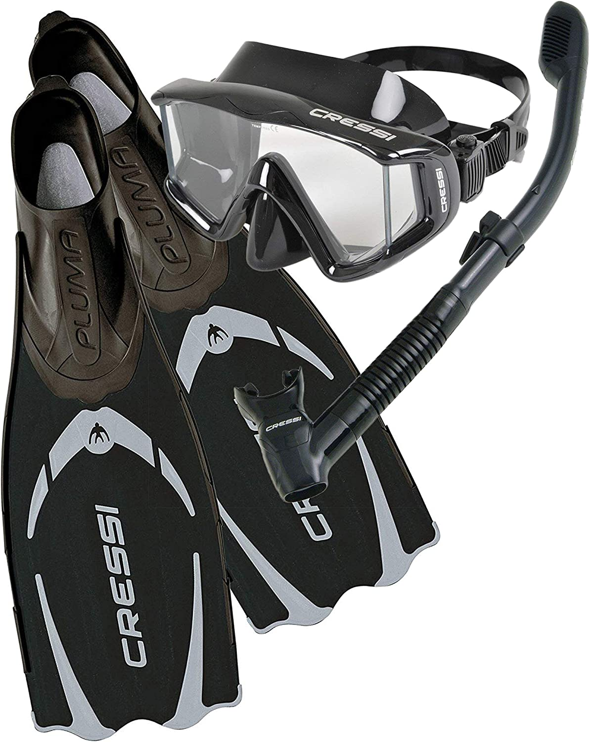 Designed in Italy Cressi Travel-Friendly Light Snorkeling Set