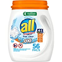 Deals on All Mighty Pacs Laundry Detergent 56 Count