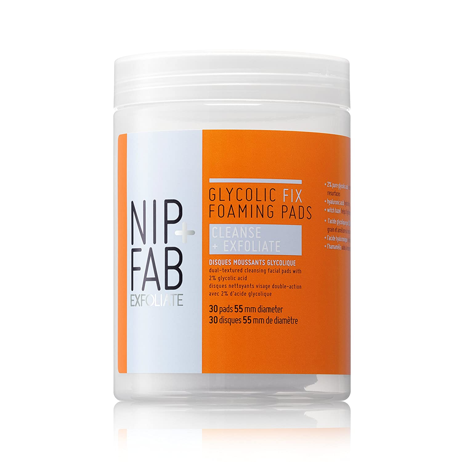 NIP+FAB Glycolic Fix Foaming Pads NIP+FAB LTD SKGLYDPD30