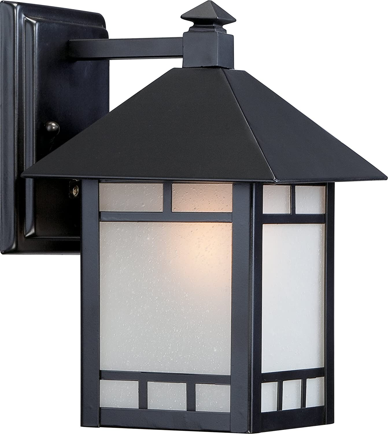 Nuvo Lighting 60//5701 One Light Outdoor Wall Mount 7 Black