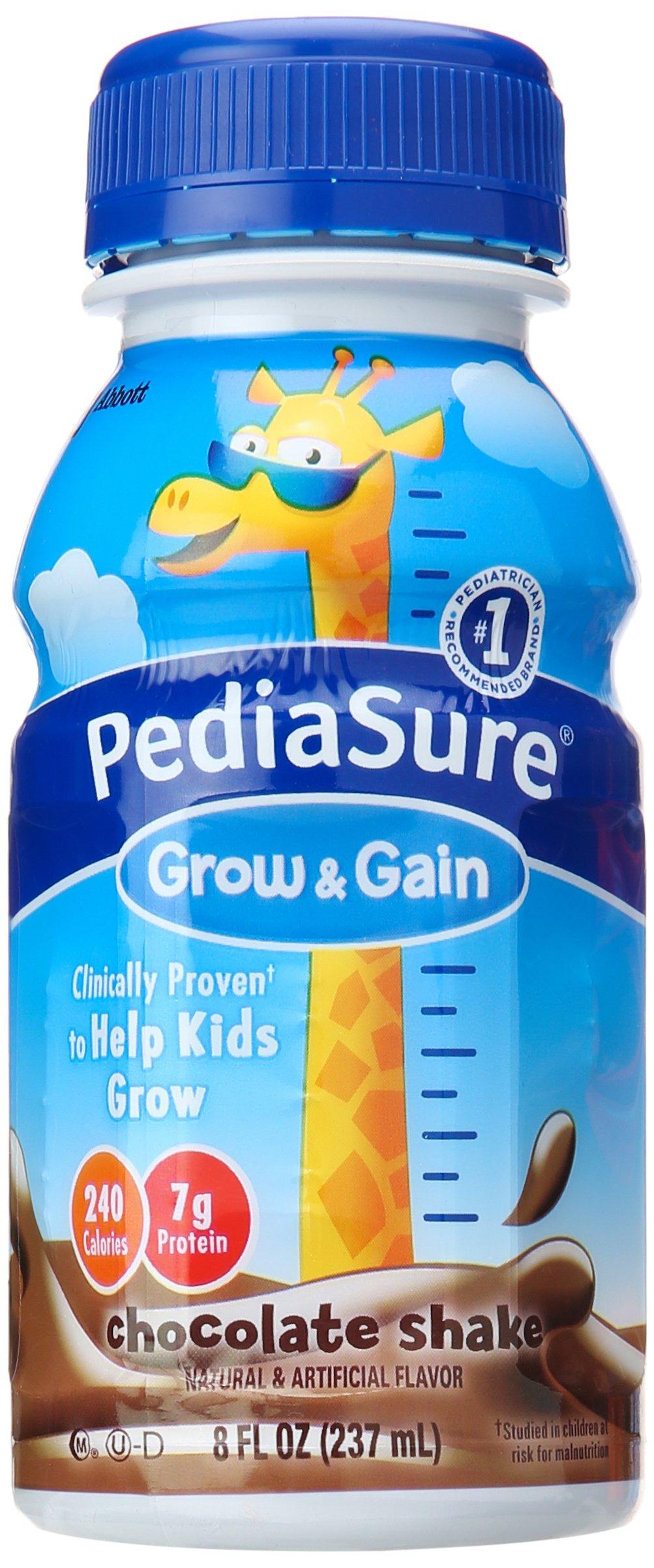 PediaSure Nutrition Shake, Chocolate, 8 Fl oz (Pack of 6) by Pediasure