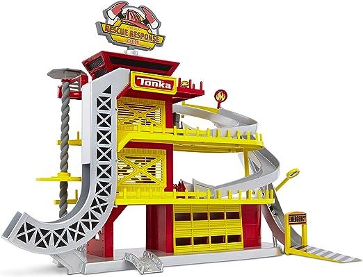 Tonka 51050 Tinys - Estación de Rescate: Amazon.es: Juguetes y juegos
