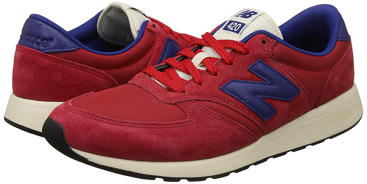 New Balance Herren Buty 420 Re-Engineerot Suede Zehenkappen    31bfbc