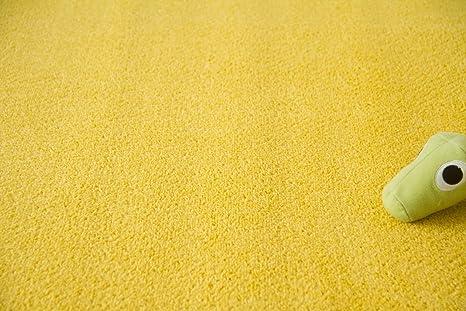 Steffensmeier Teppichboden Cambridge Meterware Auslegware f/ür Kinderzimmer Wohnzimmer Schlafzimmer Gold Gr/ö/ße: 200x50 cm