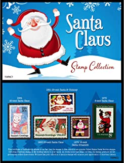 product image for Santa United States Postage Stamp Card