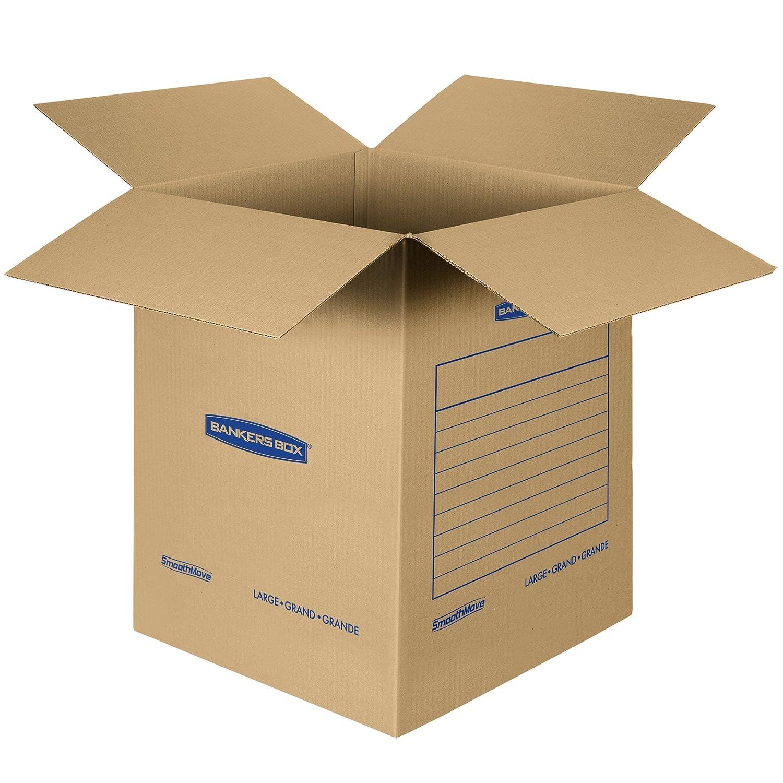 amazon com bankers box smoothmove basic moving boxes large 18