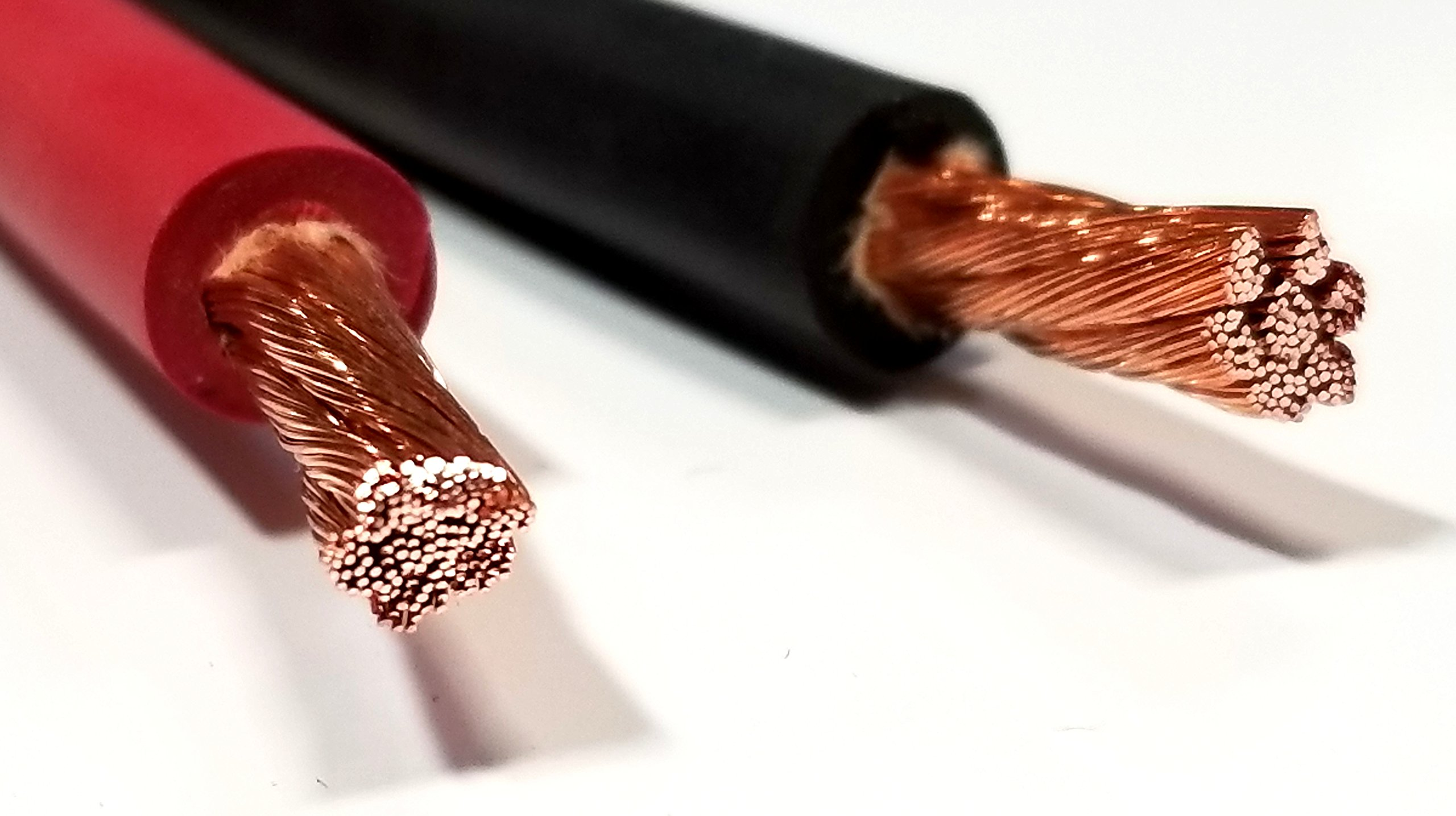 AC/DC WIRE 8 Gauge 8 AWG Welding Battery Pure Copper Flexible Cable Wire - Car, Inverter, RV, Trucks (20 ft Black + 20 ft Red)