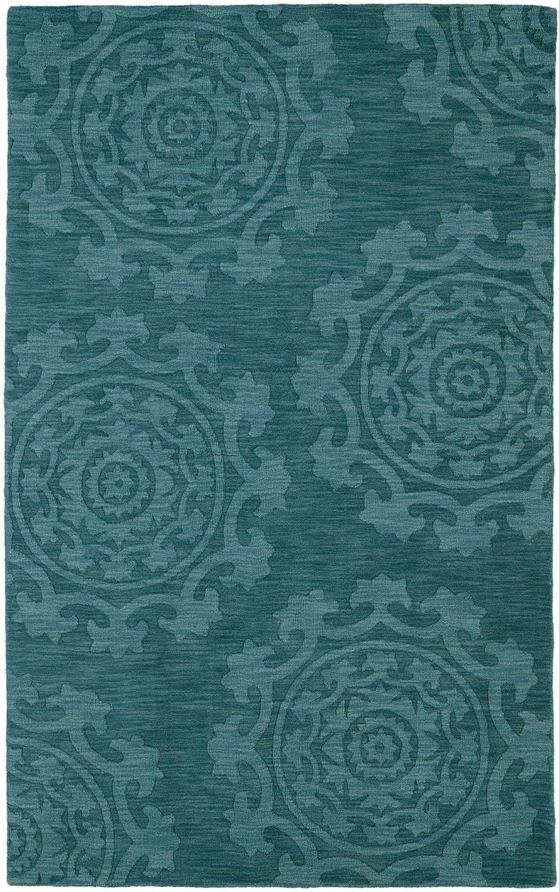 Kaleen Imprints Classic Hand-Tufted Area Rug, 9 6 x 13 6 , Turquoise
