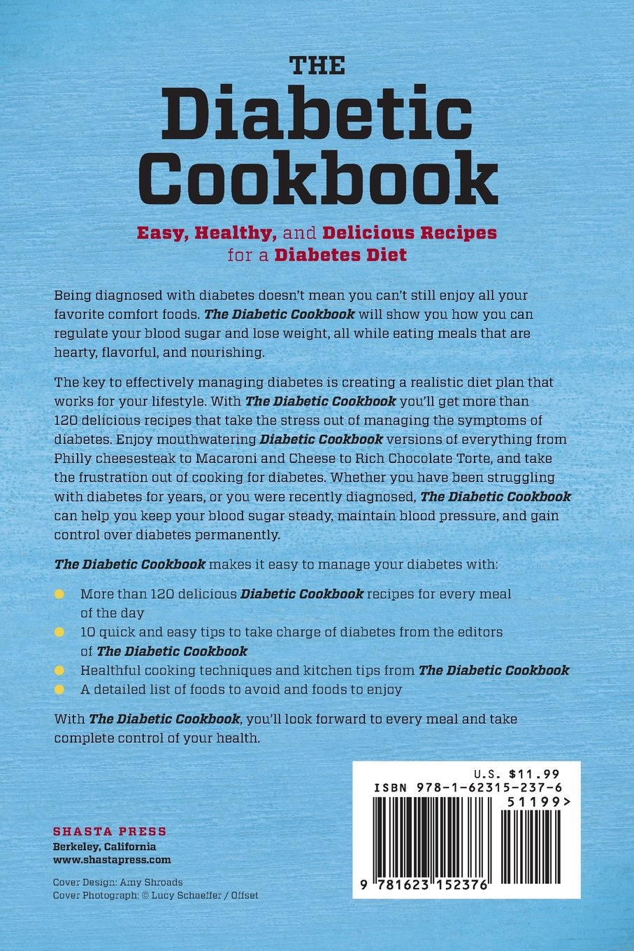 Diabetic Cookbook: Easy, Healthy, and Delicious Recipes for a ...