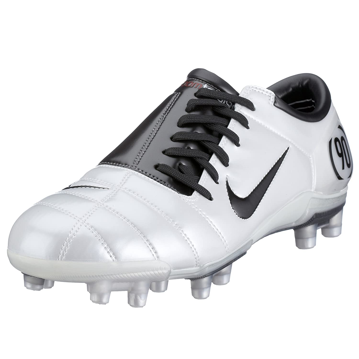 huge discount e2e24 90809 Nike Men's Air Zoom Total 90 III FG Wht/Charcoal 308229-103 ...
