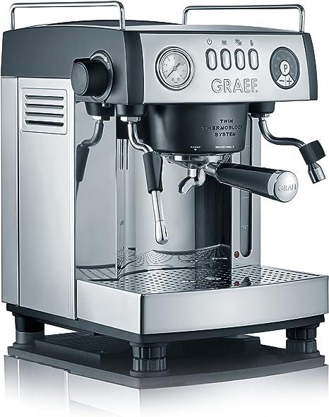 Graef ES902EU Cafetera Espresso Manual, 2515 W, 3 litros, Gris, Acero inoxidable: Amazon.es: Hogar