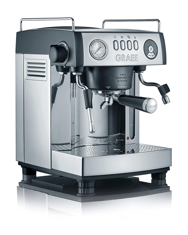 Graef ES902EU Cafetera Espresso Manual 2515 W, 3 litros, Gris, Acero inoxidable: Amazon.es: Hogar