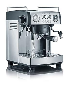 Graef ES902EU Cafetera Espresso Manual 2515 W, 3 litros, Gris, Acero inoxidable