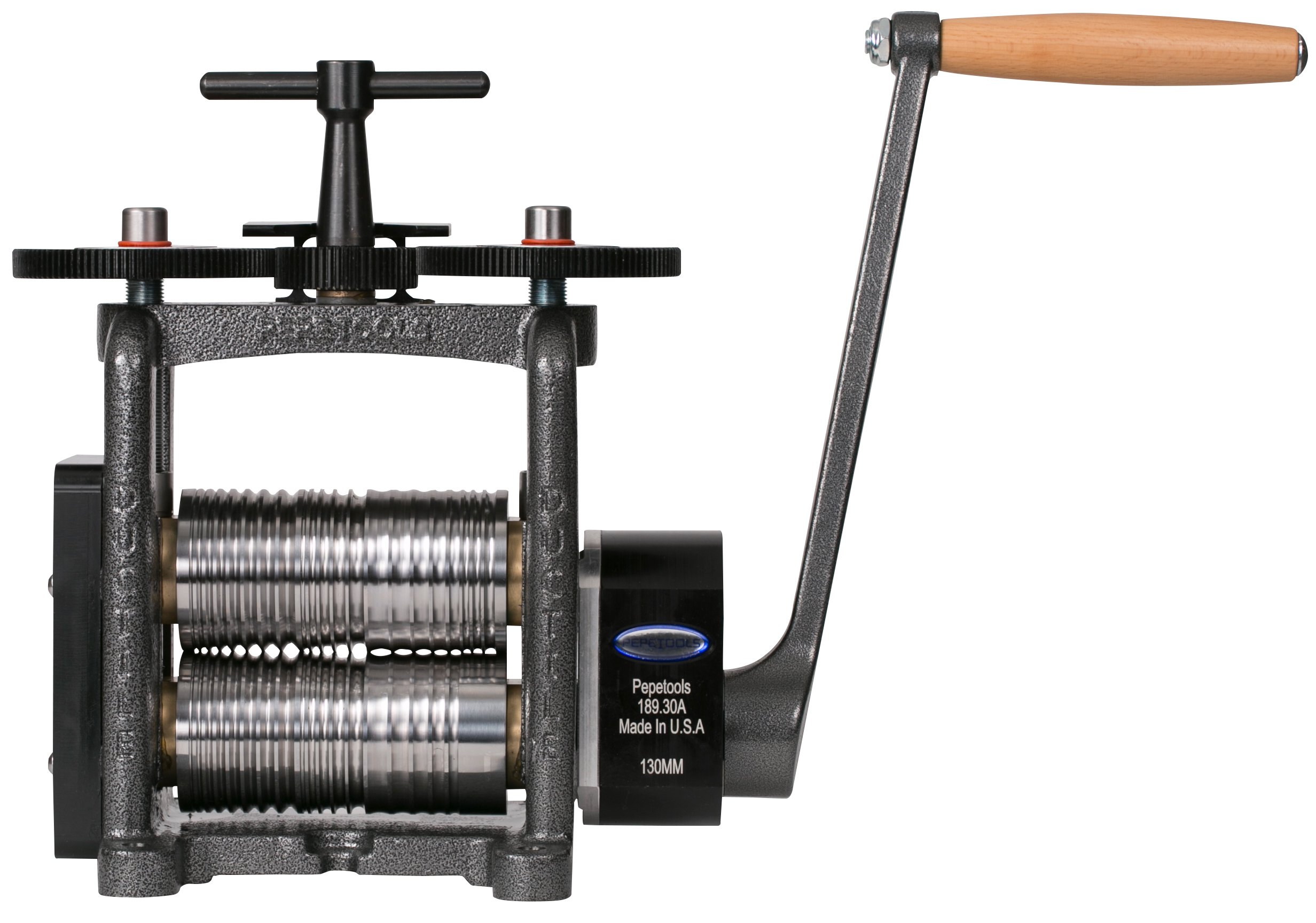 PepeTools Fancy Wire Rolling Mill Ultra With 130 mm Wide Rollers, Made in USA by Ultra Power
