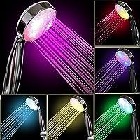 InteTech - Ducha de luz LED, 7 Colores