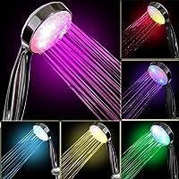 InteTech lumière LED Douche, 7Couleurs, Multicolores, Ajustement Universel
