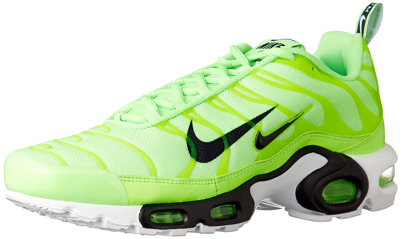 Lime Blast Black White 300 Nike Air Max Plus PRM Mens Trainers 815994 Sneakers shoes