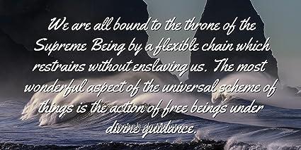 Amazoncom Joseph De Maistre Famous Quotes Laminated Poster Print