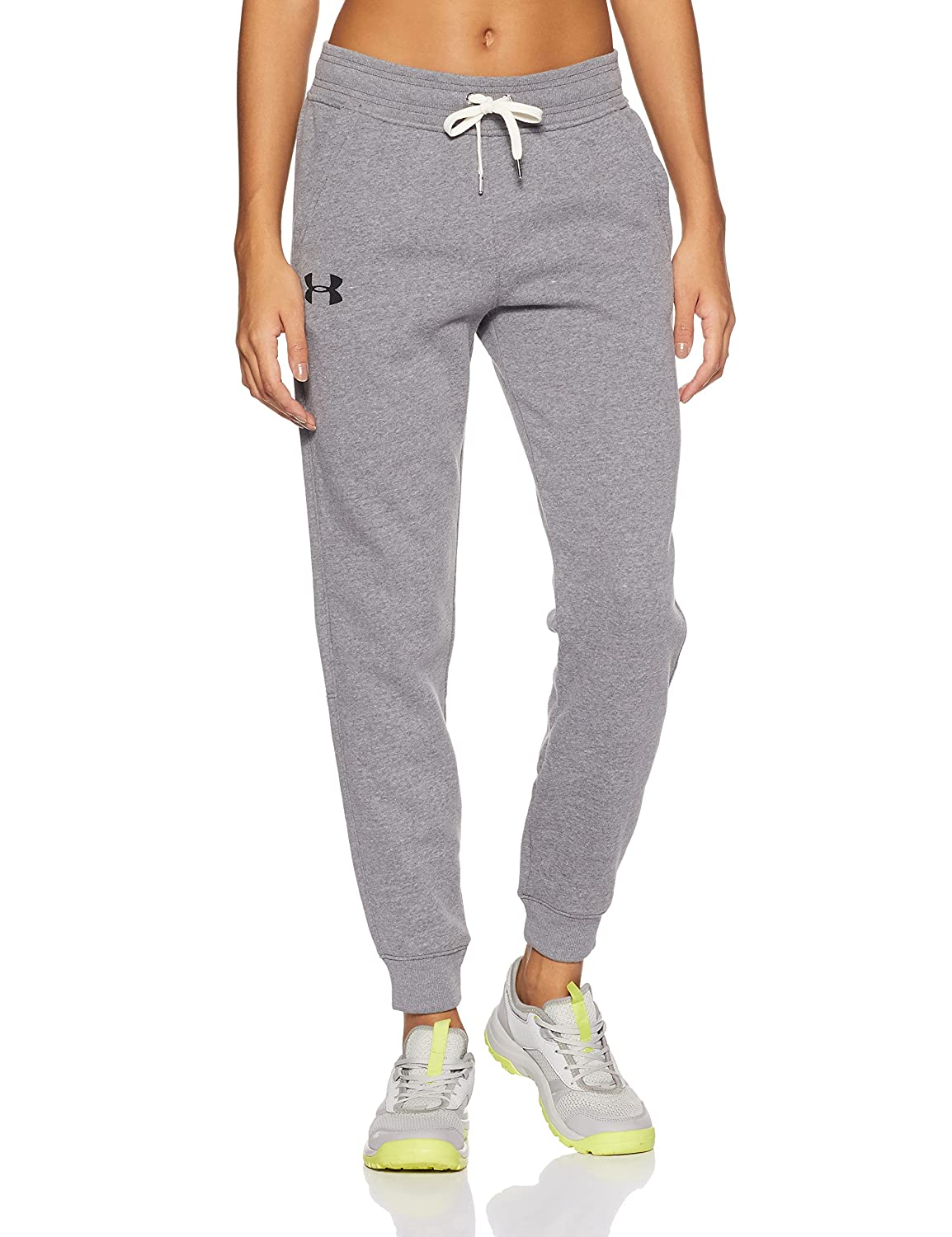 (アンダーアーマー) UNDER ARMOUR UA FAVOIRTE FLEECE PANT B0721NN46Nカーボンヘザー/ブラック Small Short