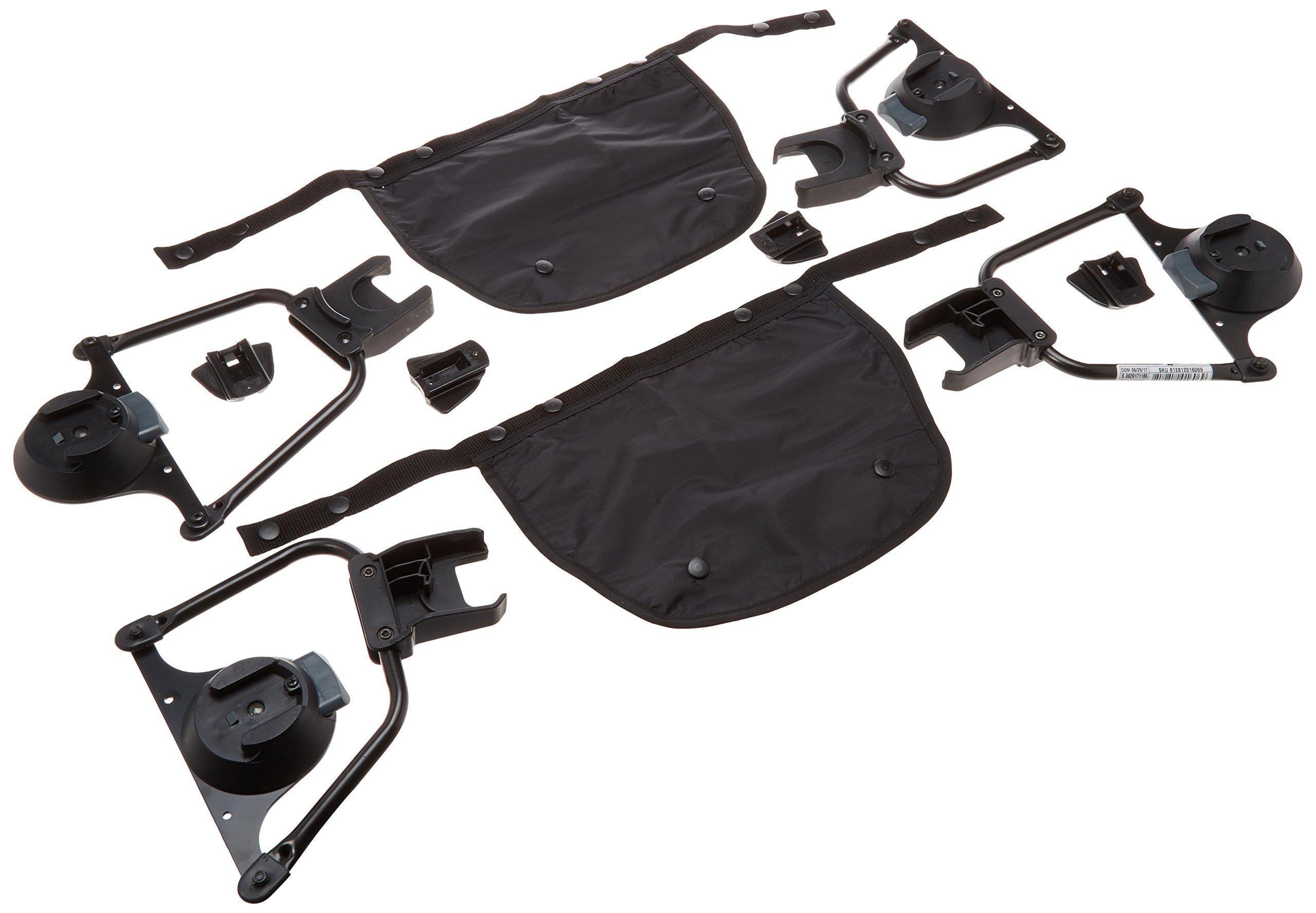 Bumbleride Indie Twin Maxi Cosi/ Cybex/ Nuna Car Seat Adapter (Set)- Stroller Not Included