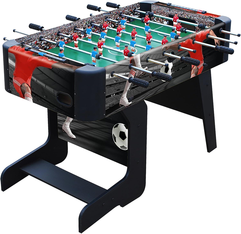 AK Deporte – 0615026 – Mesa de futbolín – 119 cm x 61 cm x 79 cm: Amazon.es: Juguetes y juegos