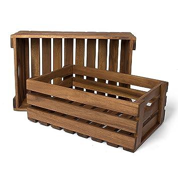 Park Alley - Caisses / Cageots en bois pour Fruits, Légumes, Bois ...