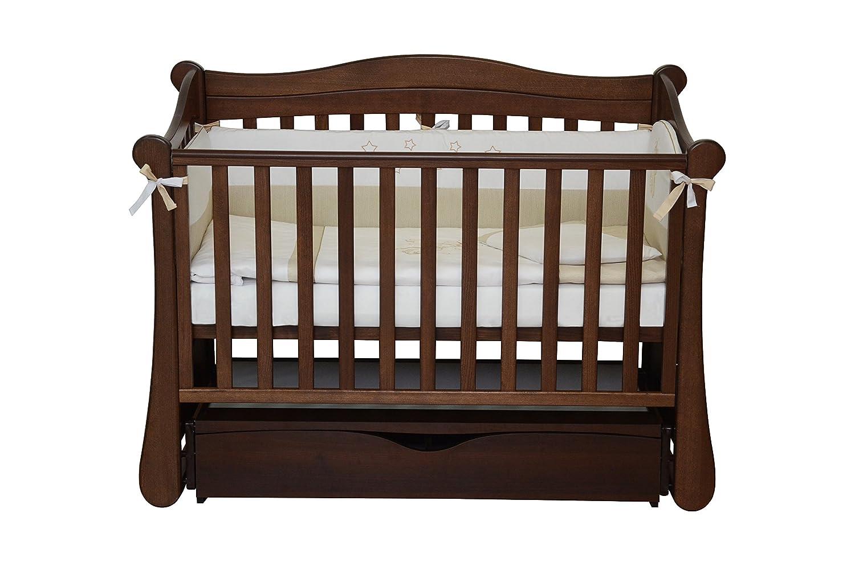 Babybett Kinderbett NEW - YORK Art.-Nr.:18.03 aus Buche MASSIVHOLZ 120x60 inkl. Lattenrost