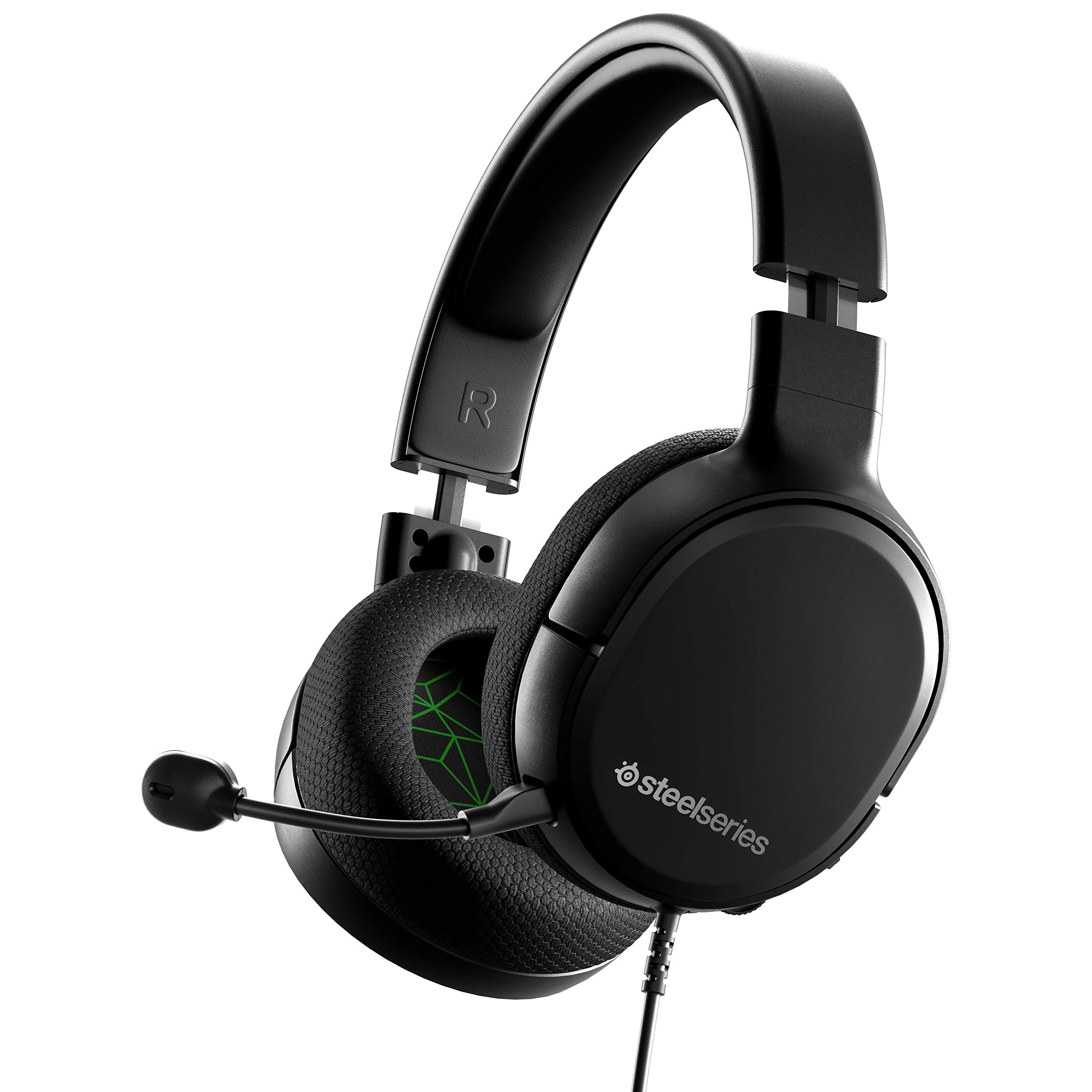 SteelSeries Arctis 1 Wired Gaming Headset - detachable Clearcast Microphone - Lightweight Steel-Reinforced Headband - for Xbox, PC, PS4, Nintendo Switch, Mobile - Xbox
