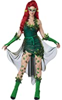California Costumes Women's Adult Lethal Beauty Costume and Wig Bundle