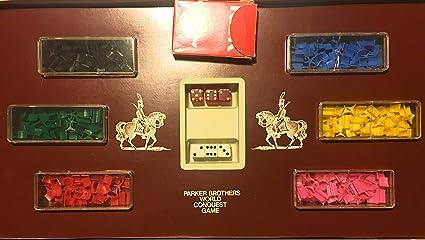 Vintage Risk Board Game 1975 1980 Parker Brothers Complete