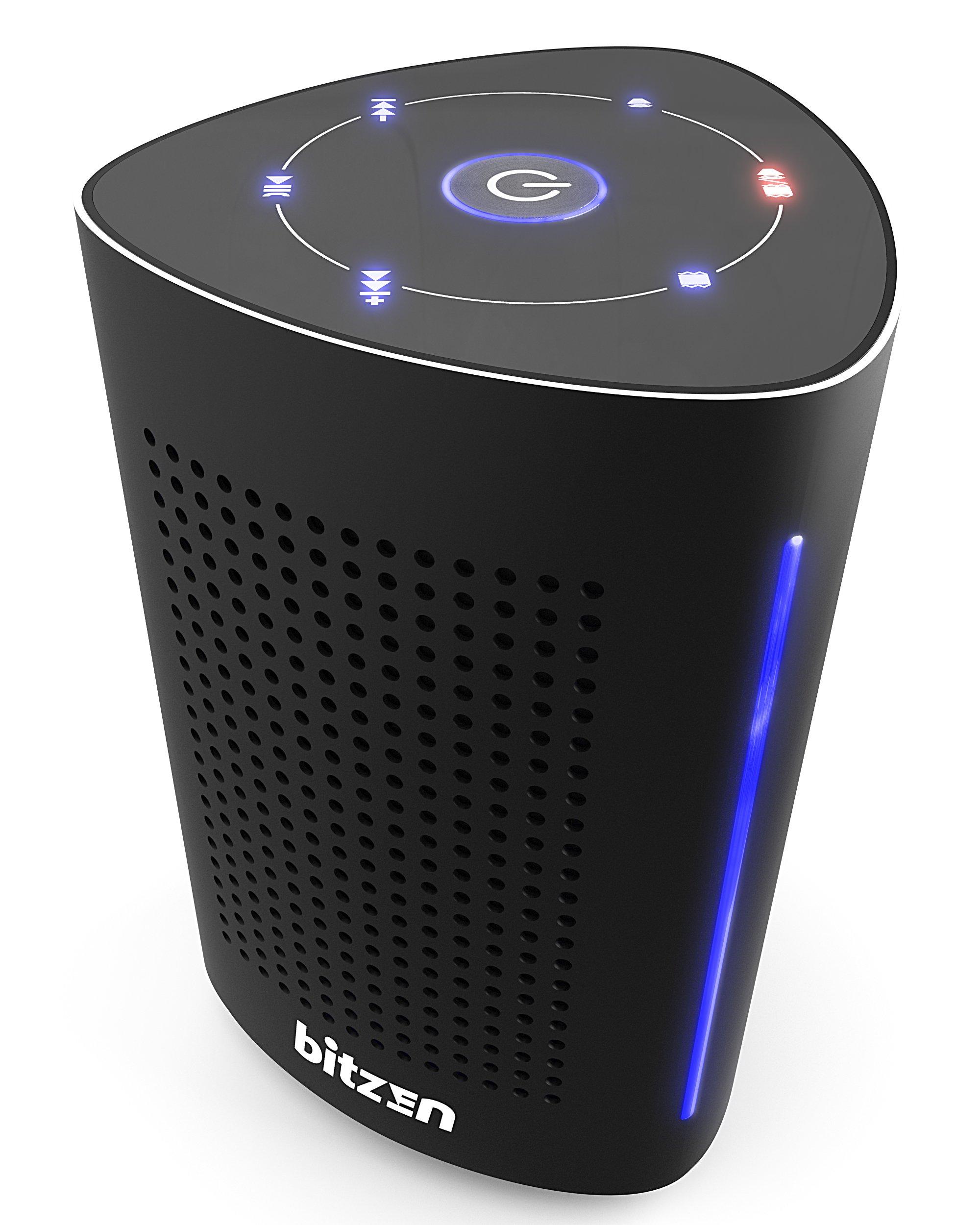 Bluetooth Computer Speaker – Wireless Bluetooth Speaker – Bluetooth Speaker for Women Men – Audio Bluetooth Speaker for iPhone Android Laptop – True Wireless Speakers – Portable Bluetooth Speakers by Bitzen (Image #1)