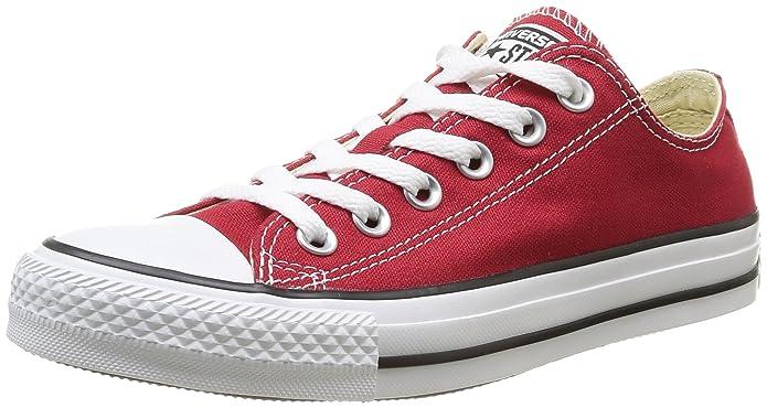 Converse Chuck Taylor (Chucks) All Star Ox Sneaker, Unisex-Erwachsene Rot