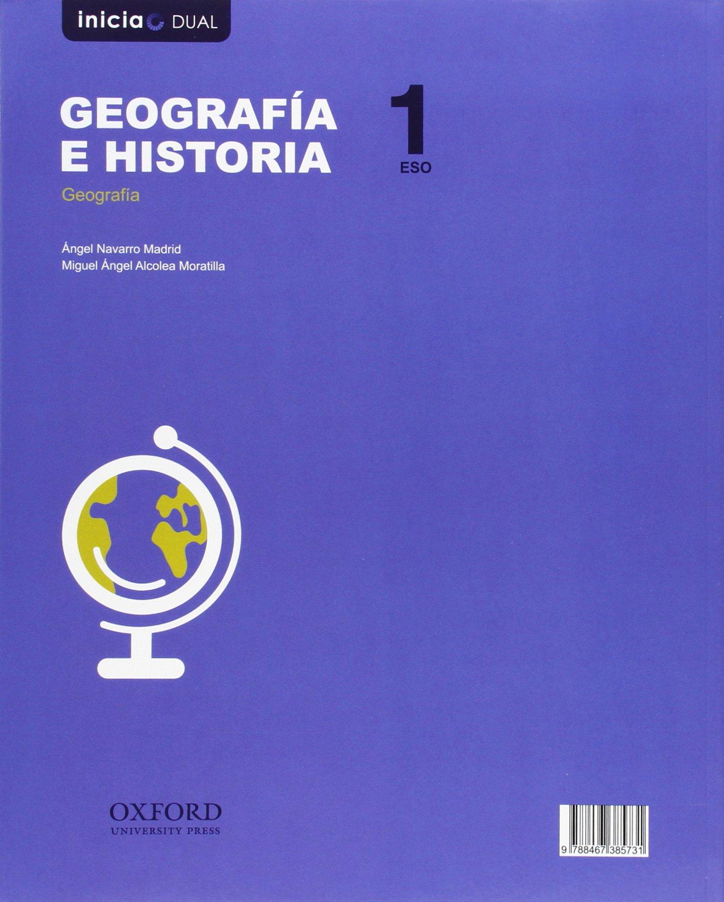 Geografía E Historia. Libro Del Alumno. Madrid. ESO 1 Inicia Dual - 9788467385717: Amazon.es: Varios Autores: Libros