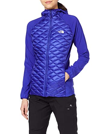 24f9644e7 THE NORTH FACE Women's Thermoball Hybrid Hoodie Jacket: Amazon.co.uk ...