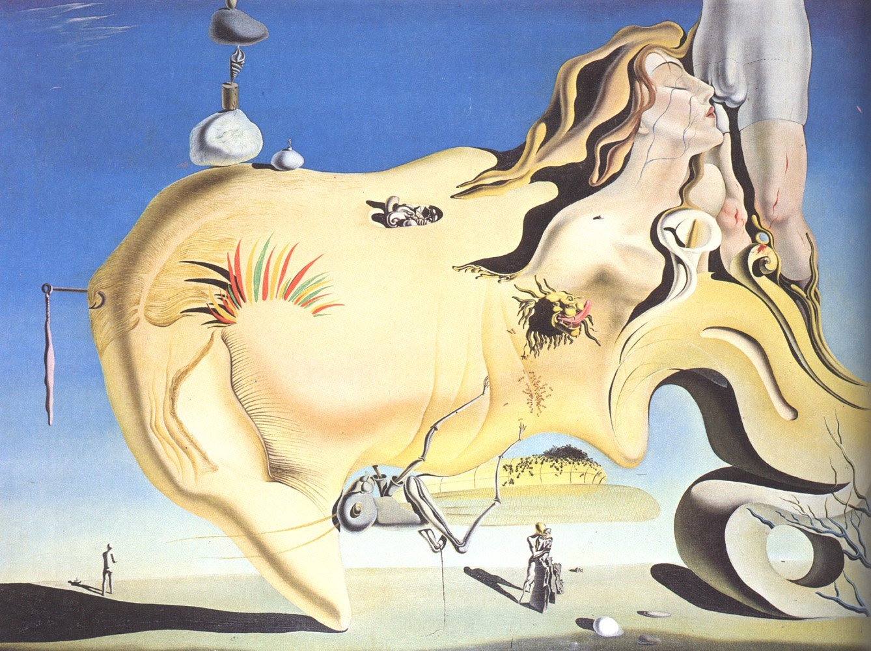 Amazon.com: Salvador Dali - The Great Masturbator, Size 24x32 inch ...