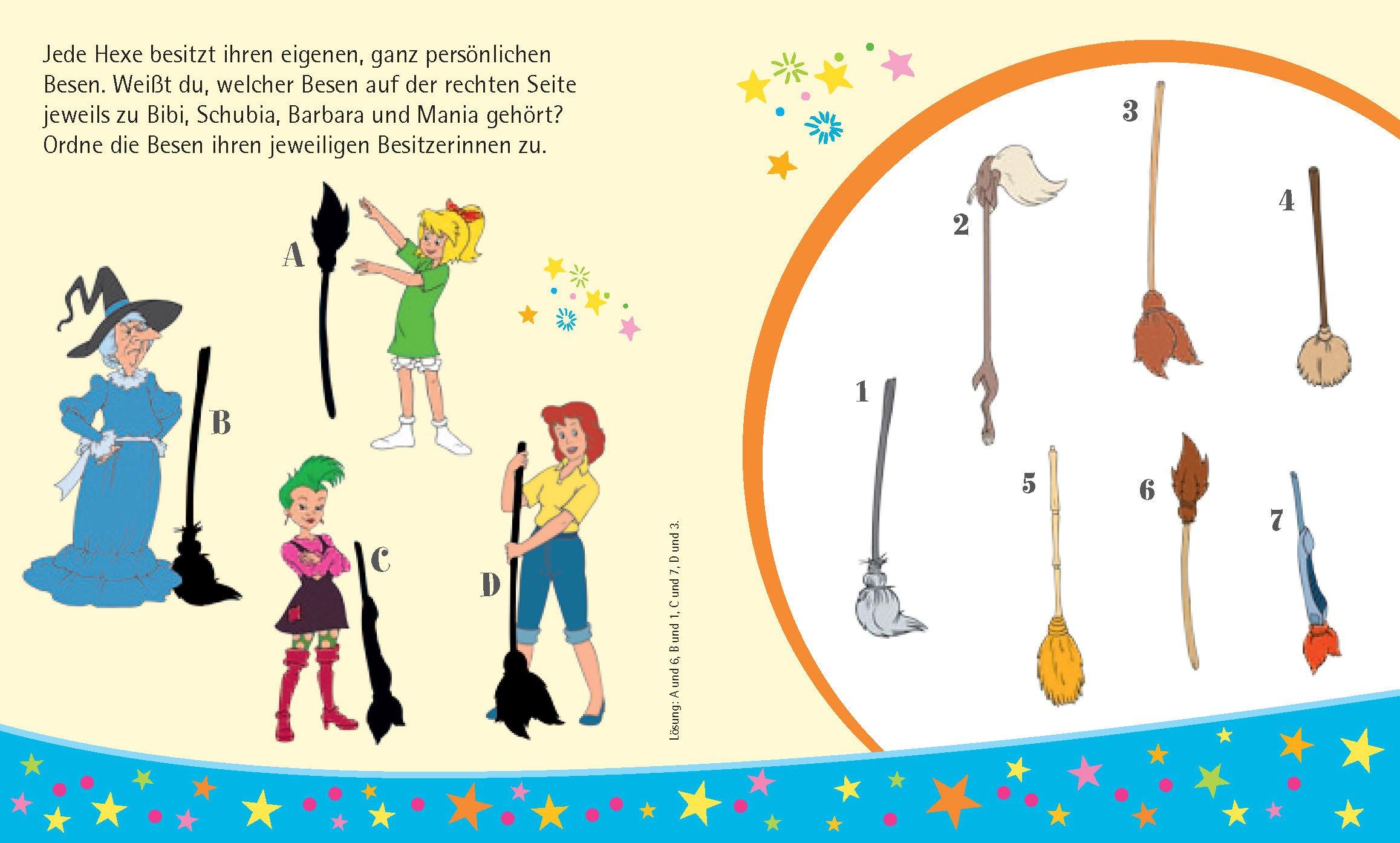Bibi Blocksberg 5 Minibücher Im Set Mein Mini Rätselspaß Amazon
