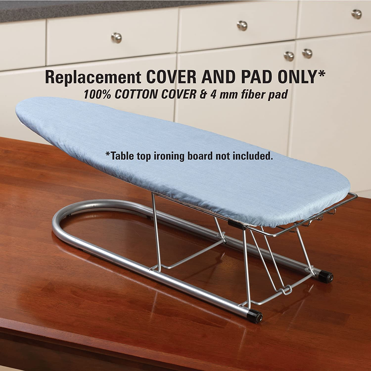 Lovely Amazon.com: Household Essentials Replacement Cover For Tabletop Small Ironing  Boards, Blue Silicone Coated: Home U0026 Kitchen