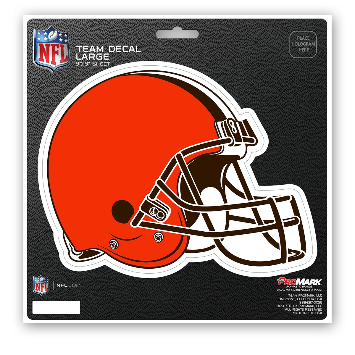 Black WinCraft NFL Cleveland Browns 63042011 Perfect Cut Color Decal 4 x 4