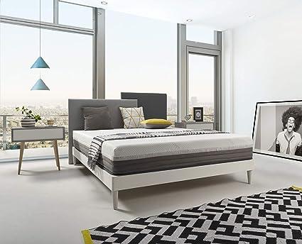 THE WISE FROG – COLCHON DESENFUNDABLE Premium Modelo Silver + 2 Almohadas (90 x 200