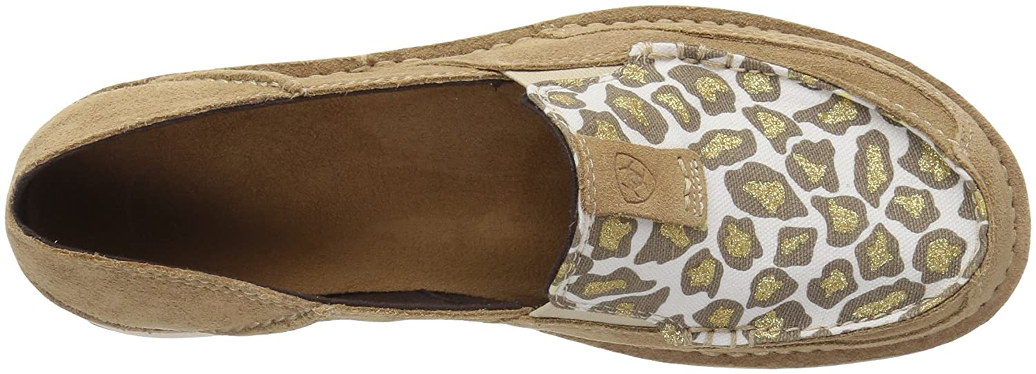 Ariat Women's US|Dirty Cruiser Slip-on Shoe B071P9J142 8.5 B(M) US|Dirty Women's Taupe Suede/Sparklin' Leopard 8cf9d7