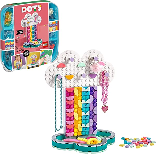 LEGO DOTS bracelets, pencil holders, photo frames and decorative craft kits for kids