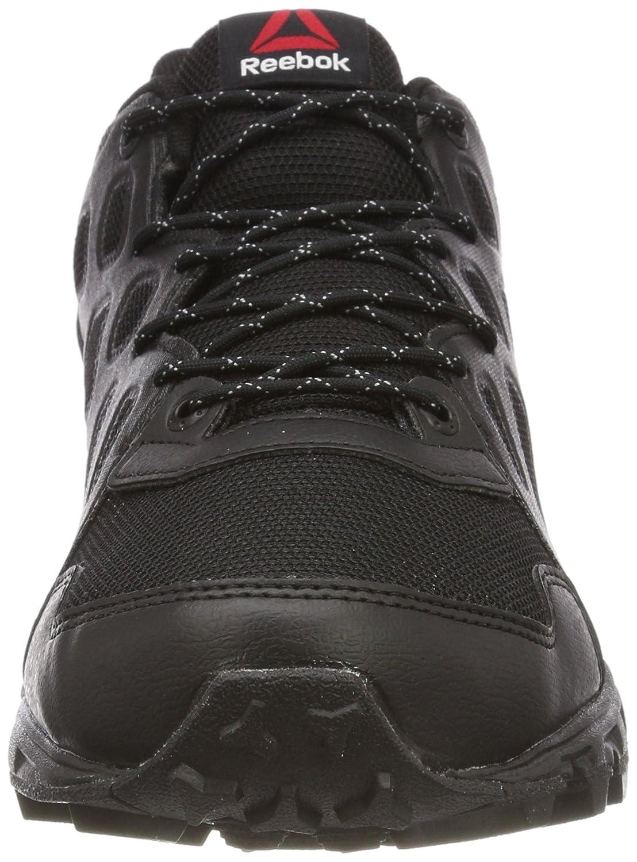 Reebok Sawcut 4.0 GTX, Zapatillas de Senderismo para Mujer, Negro (Black/Rose Rage/Flat Grey), 37 EU