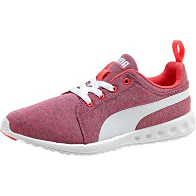 Quality assurance -  Puma Carson Runner Heather  Women Running Shoes Bright Plasma-White