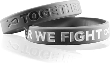 Fight Like a Girl Breast cancer ring size 8
